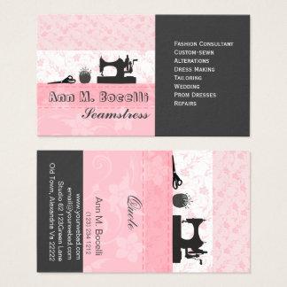 Professionele Vrouwelijke Met de hand gemaakte Visitekaartjes