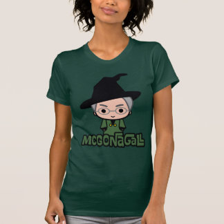 Professor McGonagall Cartoon Character Art T Shirt