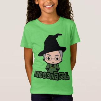 Professor McGonagall Cartoon Character Art T Shirt