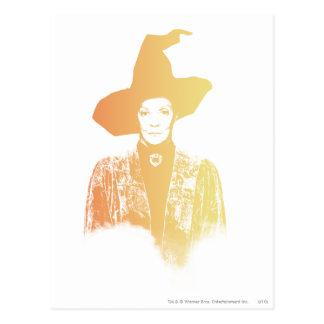 Professor Minerva McGonagall Briefkaart