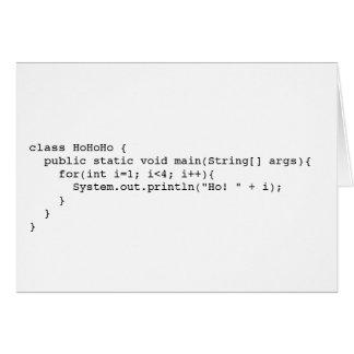 Programatic Ho! Ho! Ho! Briefkaarten 0