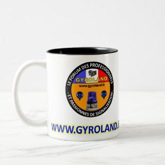 Project MUG GYROLAND Tweekleurige Koffiemok