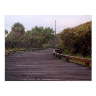 Promenade in het Strand van de Mirte Briefkaart
