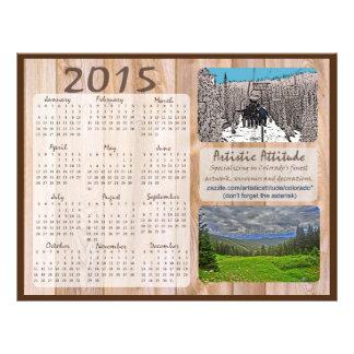 Promokalender van Colorado 2015 jaarlijks zazzle Folder