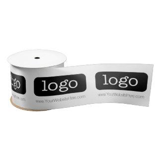 Promotie BedrijfsLevering met Logo Satijnen Lint