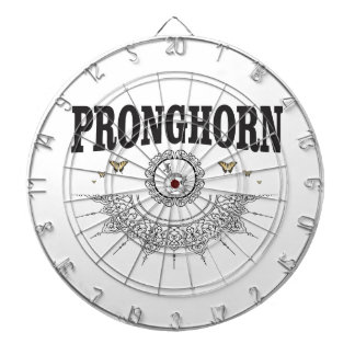 pronghorn vlinderart. dartbord