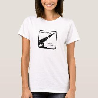 ProPyro 3 Tranparent/Zwarte Toorts T Shirt