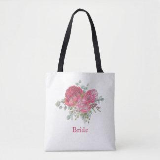 Protea bloeit Bruids Draagtas