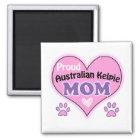 Proud Australian Kelpie mom Magneet