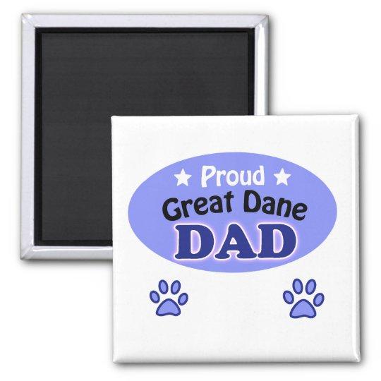 Proud Great Dane dad Magneet