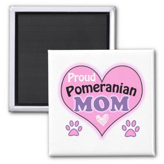 Proud Pomeranian Mom Magneet