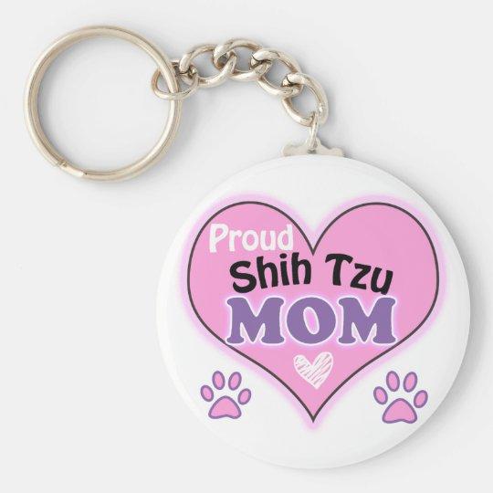 Proud Shih Tzu Mom Sleutelhanger