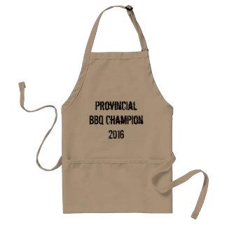 Provinciale BBQ Kampioen 2016 Standaard Schort