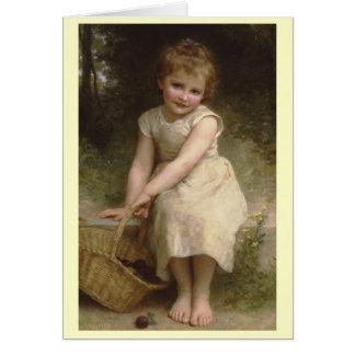 Pruimen - William-Adolphe Bouguereau Kaart