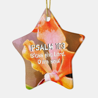 Psalm 103 Lof Lord, Mijn Ziel Keramisch Ster Ornament