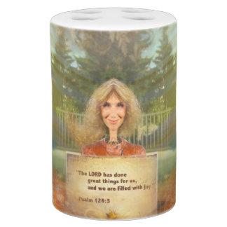Psalm 126 van de Herfst van Fairytale die met Tandenborstelhouder