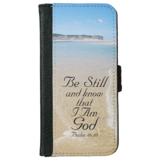 Psalm 46 is nog en weet ik GOD, OceaanUitzicht BEN iPhone 5 Portefeuille Hoesje