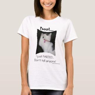 Pssst… I enkel Farted T Shirt
