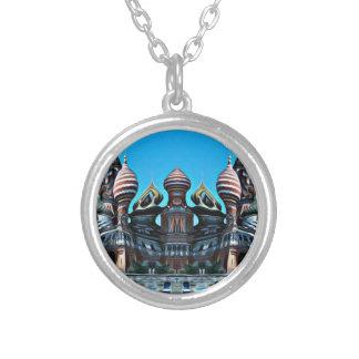 Psycgedelic Moskou Zilver Vergulden Ketting