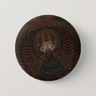 Psychedelisch Atoom Ronde Button 5,7 Cm