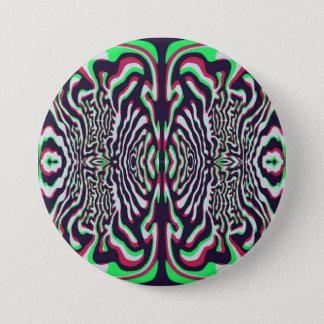 Psychedelisch Ronde Button 7,6 Cm