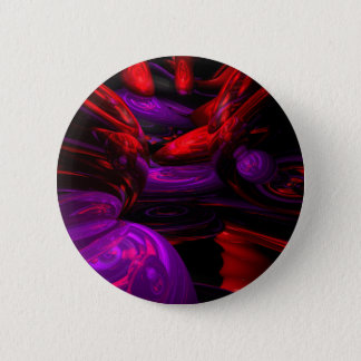 Psychedelische Abstracte Knoop Ronde Button 5,7 Cm