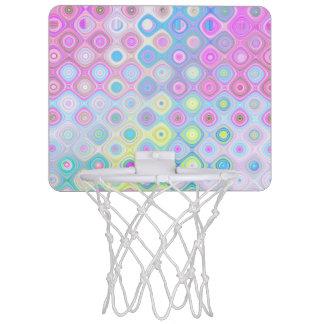 Psychedelische Cirkels Mini Basketbalbord