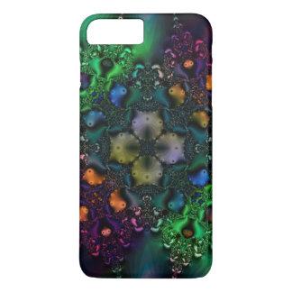 Psychedelische Fractal Grunge iPhone 7 van het iPhone 8/7 Plus Hoesje