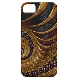 Psychedelische Fractal van de Chocolade Barely There iPhone 5 Hoesje