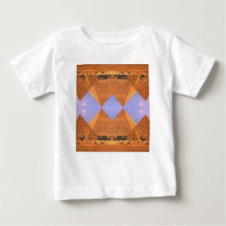 Psychedelische Piramides Baby T Shirts