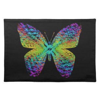 Psychedelische vlinder placemat