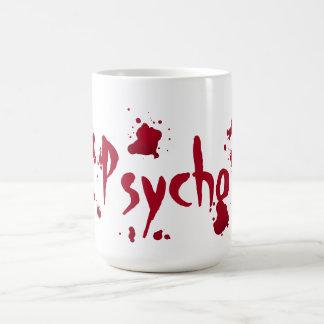 Psycho krankzinnigheid Halloween Koffiemok