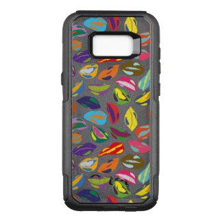 Psycho retro kleurrijke patroonLippen OtterBox Commuter Samsung Galaxy S8+ Hoesje