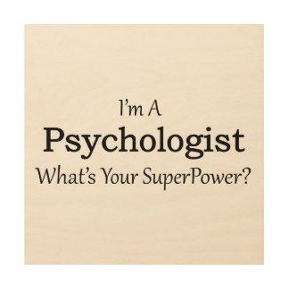 Psycholoog Hout Afdruk