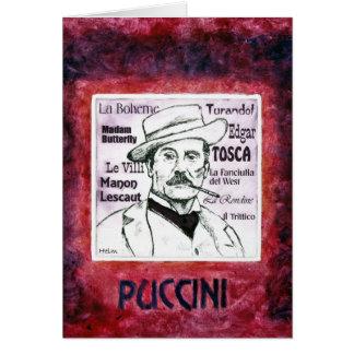 PUCCINI groetenkaart Briefkaarten 0