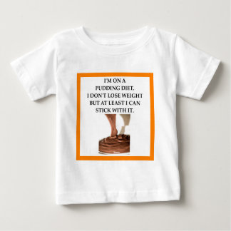 PUDDING BABY T SHIRTS