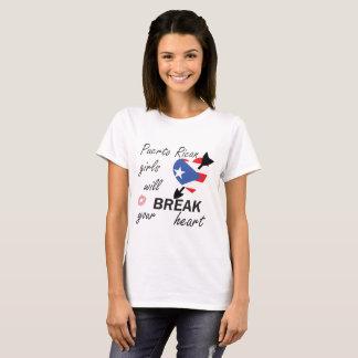 Puerto Ricaan Heartbreaker T Shirt