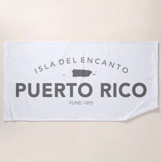 Puerto Rico Isla del Encanto Strandlaken