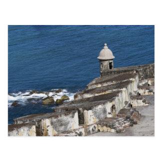 Puerto Rico, Oud San Juan, sectie van Gr Morro Briefkaart