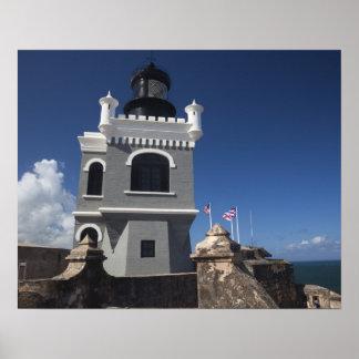 Puerto Rico, San Juan, Oud San Juan, Gr Morro Poster