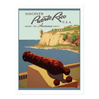 Puerto Rico (wpa) Briefkaart