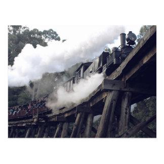 Puffende Billy Steam Train Briefkaart