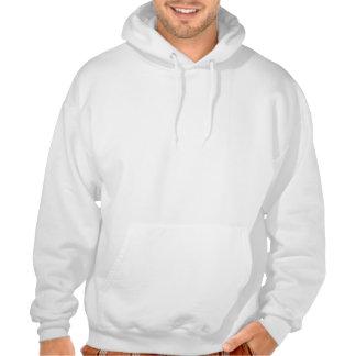 Pug Clown bij het Unisex-Sweatshirt Met een kap