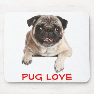 Pug de Hond die van het Puppy van de Liefde uit Muismatten