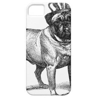 PUG de KROON van de Kleur van Fawn van de Hond Barely There iPhone 5 Hoesje