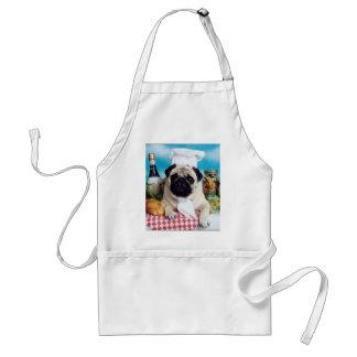 Pug de Schort van de Chef-kok