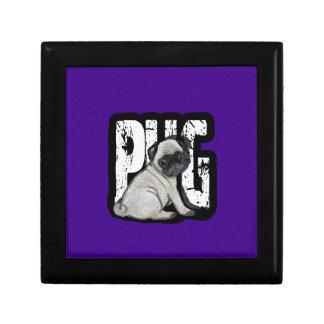 Pug Decoratiedoosje