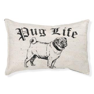Pug Gangster van de Hond van het Leven de Grappige Hondenbedden