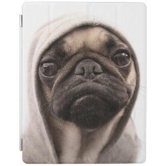 Pug in een Hoodie iPad Cover