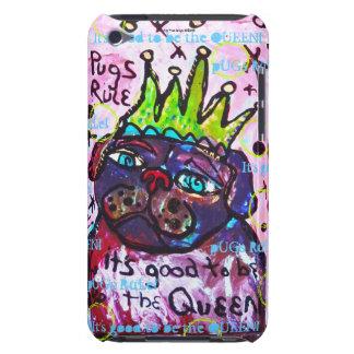 Pug Koningin iPod Touch Hoesje